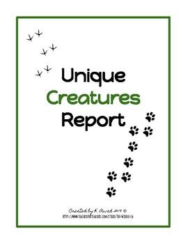 Unique Creatures 5 Paragraph Essay