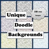 Unique Doodle Backgrounds