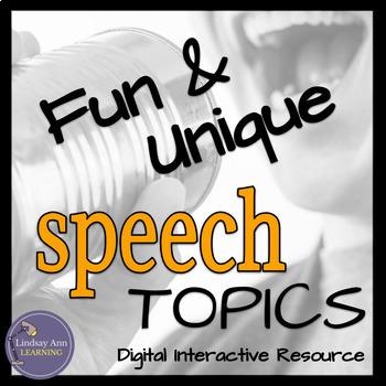 Speech Topics for Google Drive