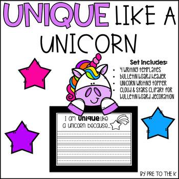 Unique Like a Unicorn Craftivity
