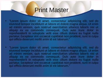 Unique PowerPoint Template