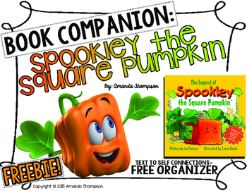 Spookley the Square Pumpkin Text to Self Connections FREEBIE