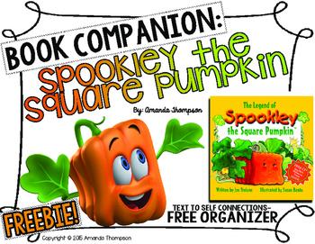 Unique Pumpkins- Spookley the Square Pumpkin- Text to Self