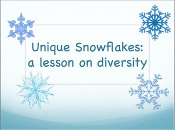 Unique Snowflakes: A Lesson on Diversity