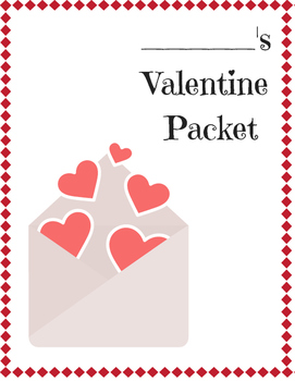 Unique Valentine's Day Printable Packet for 2nd, 3rd, 4th