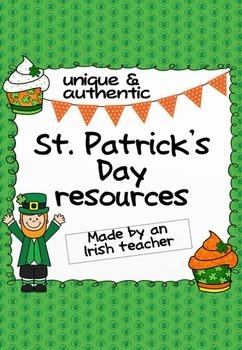 Unique & authentic St. Patrick's Day resource pack