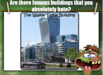Unbelievably Unique buildings – ESL conversation for adults and kids