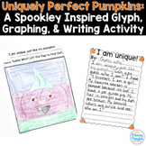 Pumpkin Glyph: Spookley Inspired Glyph, Graph, & Writing Activity