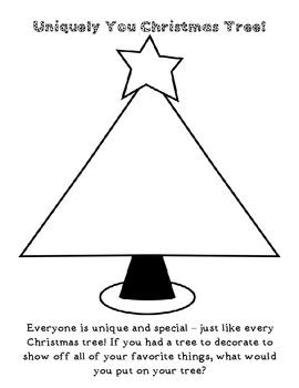Uniquely You Christmas Tree