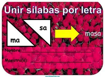 Spanish Letter-Sound to Syllable Correspondence/Unir sílab