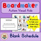 Unisex Visual Schedule - Boardmaker Visual Aids for Autism SPED