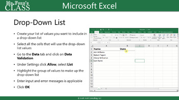 Unit 03 Microsoft Excel - Create Cells and Ranges (PPT)