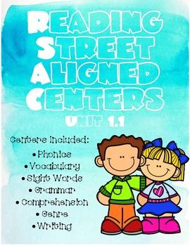 Unit 1.1 Reading Street Aligned Centers