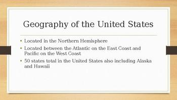 Unit 1.1 U.S. Geography power point