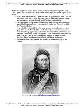 American Girl Unit 1 1764 Nez Perce-Kaya® - Co-op/School License