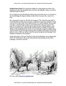 American Girl Unit 1 1764 Nez Perce-Kaya® - Teacher License