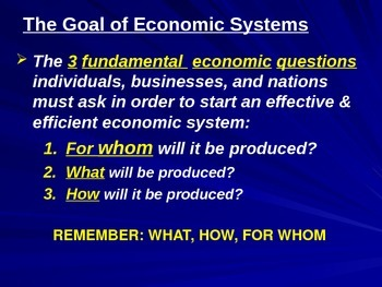 Unit 1-2: Basic Economic Concepts & PPF Lecture