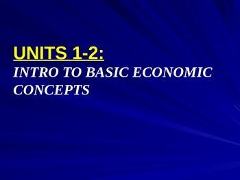 Unit 1-2: Basic Economic Concepts & PPF Lecture