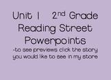 Unit 1 2nd Grade Reading Street Powerpoints Bundle