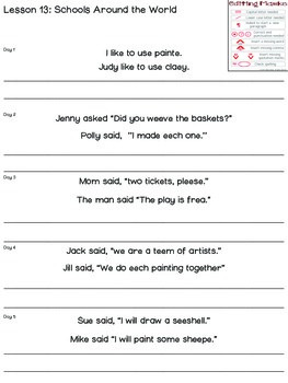 Unit 1-4 Proofreading Practice for SECOND GRADE Unit 1-4