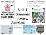Unit 1, 4th Grade Scott Foresman Grammar Review Book