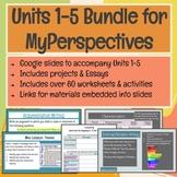 6th Grade Unit 1-5 Slides Bundle