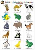 Unit # 1 - Animals Part 1 - Handout (A4)