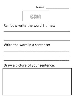 Unit 1 *BUNDLE* word work for first grade Reading Street 2011