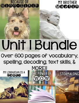 2014 Textbook Companion: Unit 1 Bundle