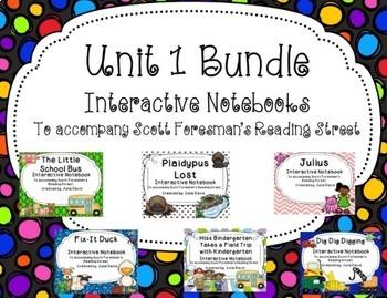 Unit 1 Bundle Interactive Notebook Journal