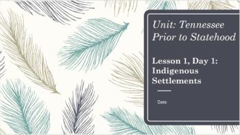 Unit 1 Bundle - TN Before Statehood - 5th grade Tennessee Social Studies