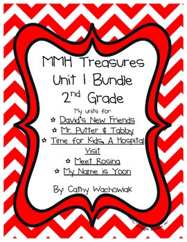Unit 1 Bundle Treasures MMH 2nd Grade