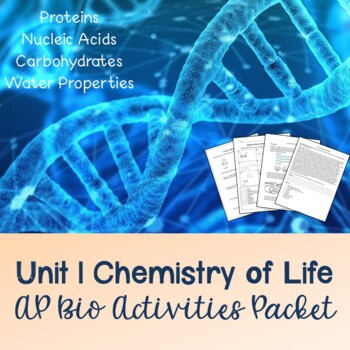 Unit 1: Chemistry of Life Activities Packet