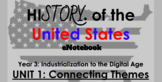 """Unit 1: """"Connecting Themes"""" 5th Grade Social Studies eNote"""