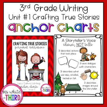 Unit #1 - Crafting True Stories - Anchor Charts