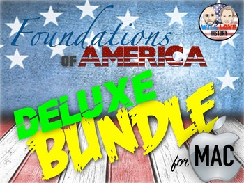 Foundations of America Deluxe Bundle - Keynote Version (FOR MAC USERS)
