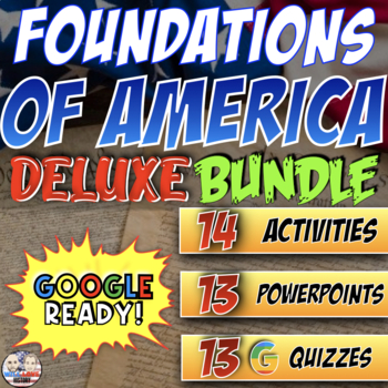 Foundations of America Deluxe Bundle - Powerpoint Version (FOR PC USERS)