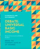 Economics and Government Debate: Universal Basic Income