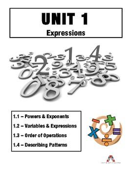 Unit 1: Expressions