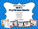 Unit 1 First Grade Fry Phrases Bundle    Reading Street *2008 Version