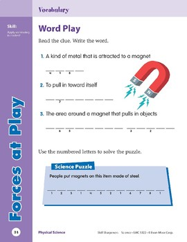 Unit 1: Forces at Play (Skill Sharpeners: Science)