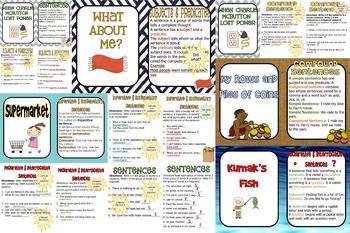 Unit 1 Grammar Interactive PowerPoints