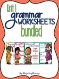 Verbs, Proper Nouns, Nouns, & Statements & Questions Bundled