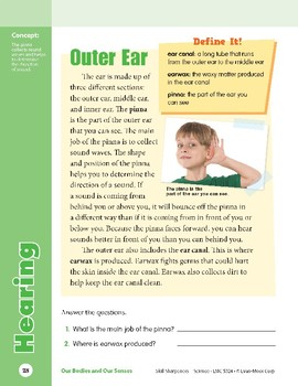 Unit 1: Hearing: Concepts (Skill Sharpeners: Science)