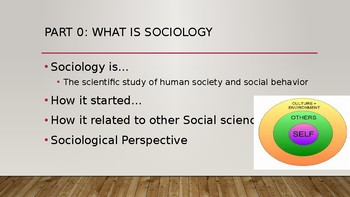 Unit 1: Introduction to Sociology & Culture PPT