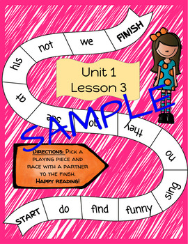 Unit 1 Journeys Fry Word Games