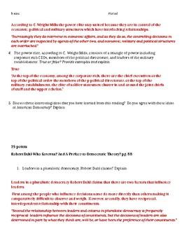 Unit 1 Lanahan Reading Jigsaw-Democratic Theories