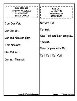 Unit 1 Lesson 1 Decodable Reader