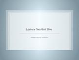 Unit 1 Lesson 2 Physics