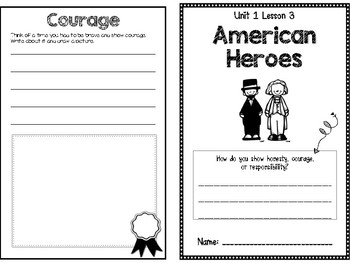 Unit 1.3: American Heroes Social Studies Booklet (McGraw Hill)